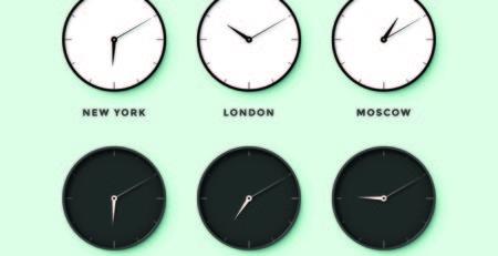 Fuso orario Tokyo e orologi - Watabi