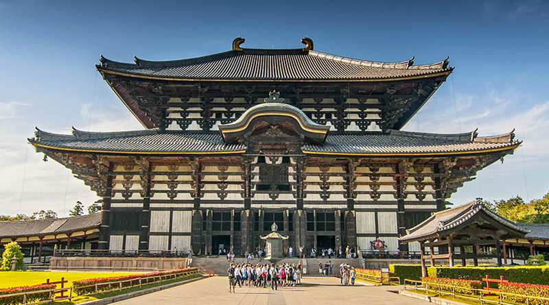 Tempio Todaiji a Nara - Watabi