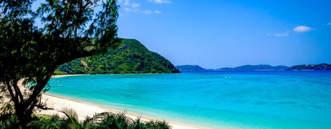Una spiaggia di Okinawa