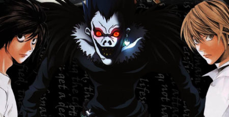 3 personaggi di Death Note - Watabi