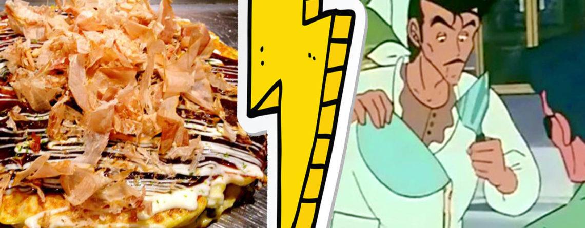 okonomiyaki nella rappresentazione animata di kiss me licia