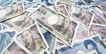tante banconote giapponesi da 1000 yen
