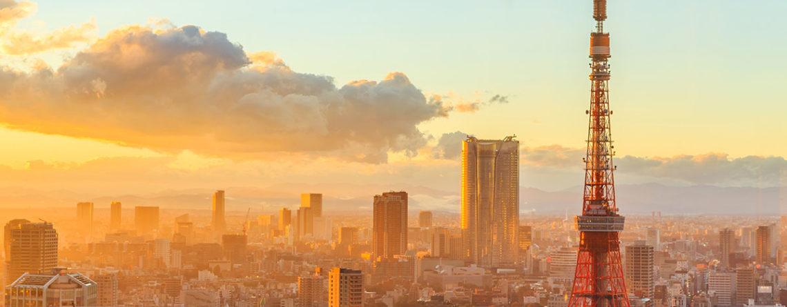 tramonto su tokyo - watabi