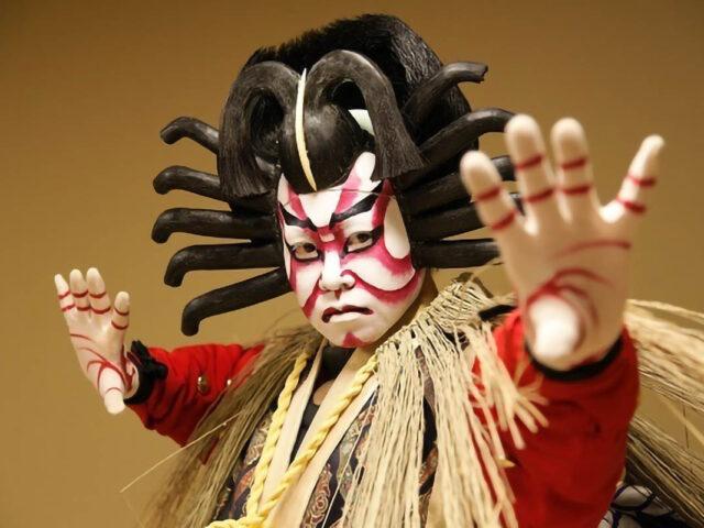 attore di teatro kabuki