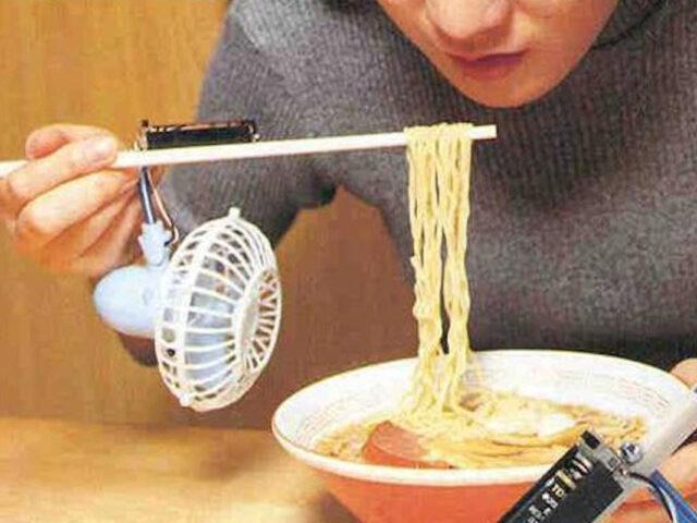 invenzioni giapponesi bacchette ventilate