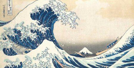 ukiyoe onda di kanawagawa - hokusai