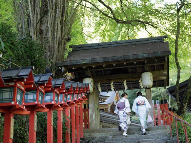 la salita al monte kurama