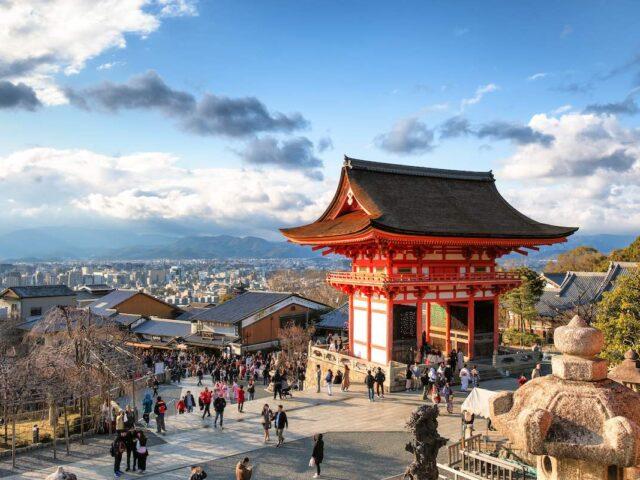 cancello di accesso al kiyomizudera
