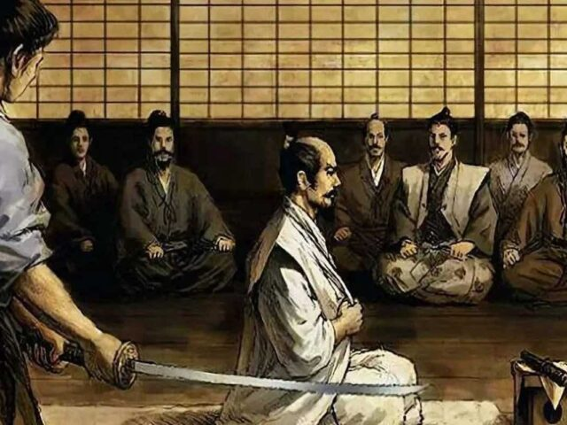 bushido seppuku rituale
