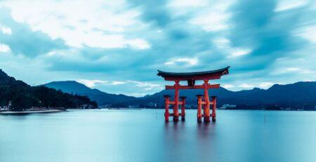 il grande torii di miyajima